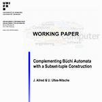 Internal working papers DIUF